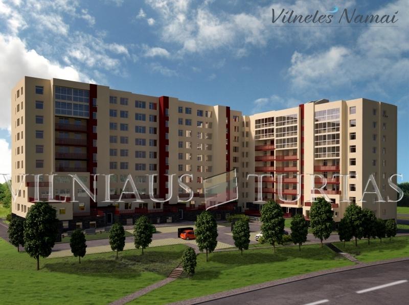 Vilniaus m. sav., Naujoji Vilnia, Karklėnų g., 57 m², 79 000 €