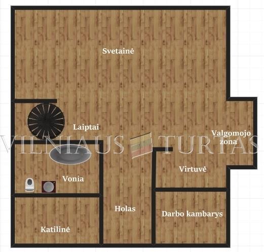 Vilniaus m. sav., Tarande, Kelpių g., 170 m², 7 a, 109 000 €