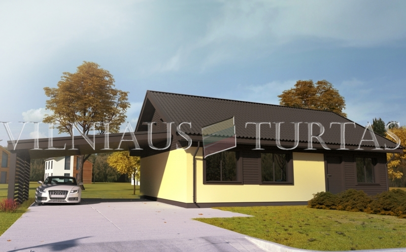 Trakų r. sav., Senojo Tarpupio k., 79 m², 15 a, 64 000 €