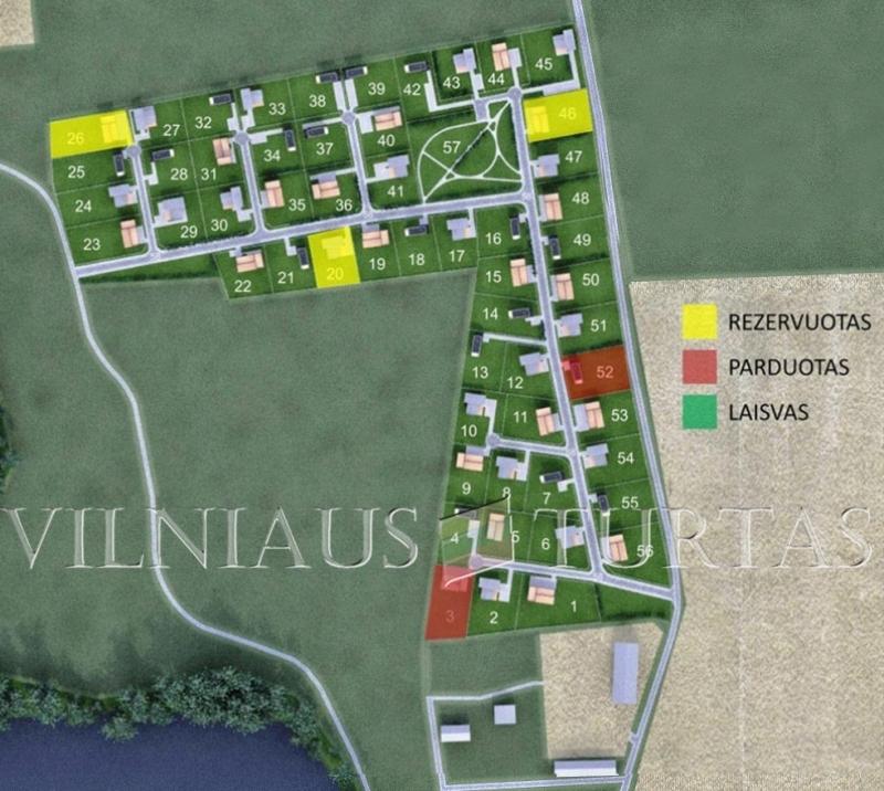 Trakų r. sav., Senojo Tarpupio k., 79 m², 15 a, 110 500 €