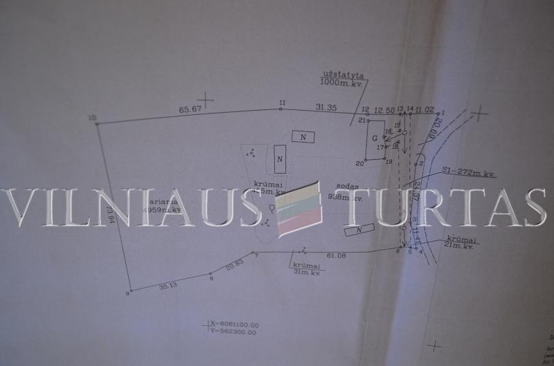 Trakų r. sav., Raudonės I k., 66 m², 100 a, 50 000 €