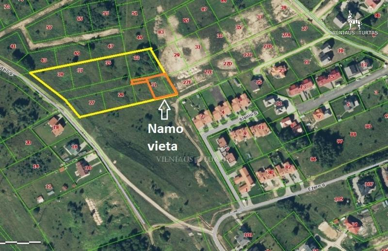 Vilniaus m. sav., Antežeriai, Žalioji g., 142 m², 9 a, 152 000 €