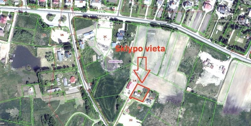 Vilniaus r. sav., Sudervės k., 10 a, 16 500 €