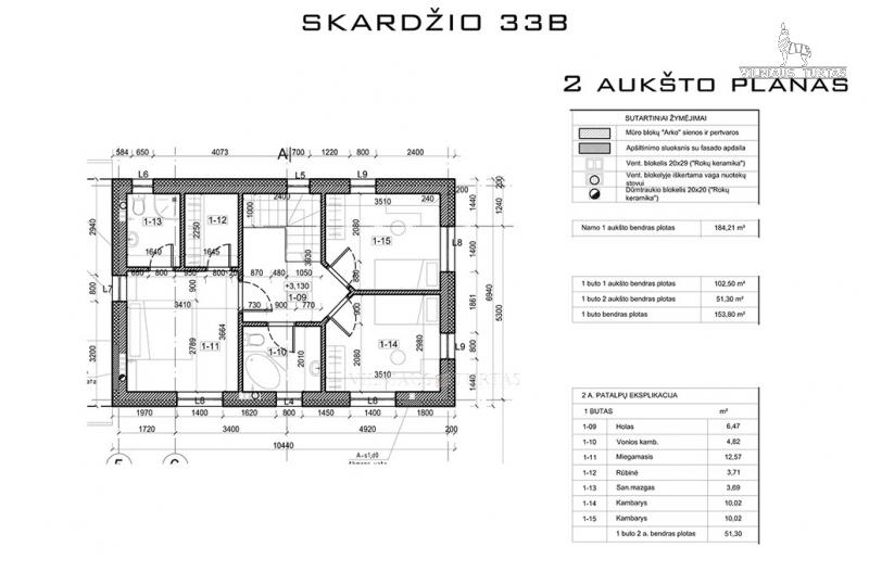Vilniaus r. sav., Antežerių k., 153 m², 7 a, 154 000 €
