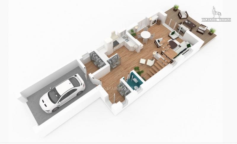 Vilniaus m. sav., Antežeriai, 137 m², 5 a, 142 000 €