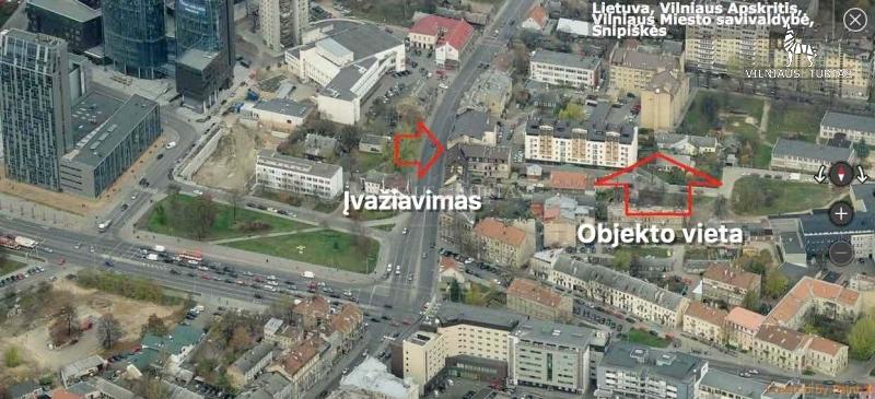 Vilniaus m. sav., Šnipiškės, Kalvarijų g., 48 m², 270 000 €