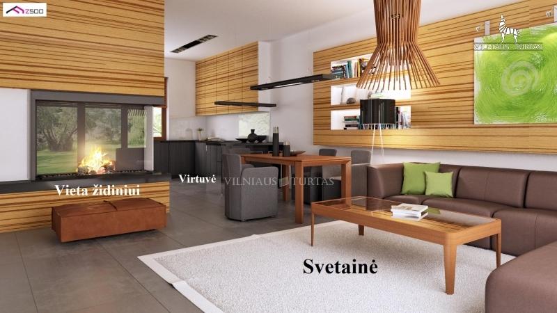 Vilniaus m. sav., Zujūnai, 84 m², 7 a, 76 000 €
