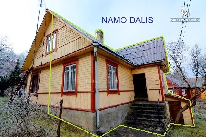 Vilniaus m. sav., Naujoji Vilnia, Žaliakalnio g., 40 m², 5 a, 42 000 €