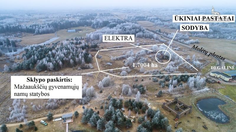 Vilniaus r. sav., Kalnuotės I k., 170 a, 35 000 €