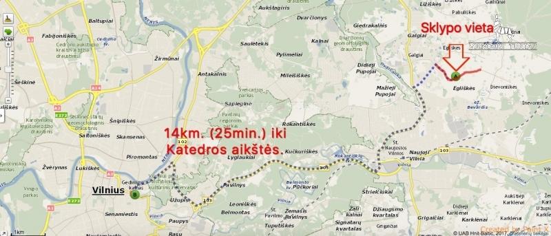 Vilniaus r. sav., Egliškių k., 15 a, 21 500 €