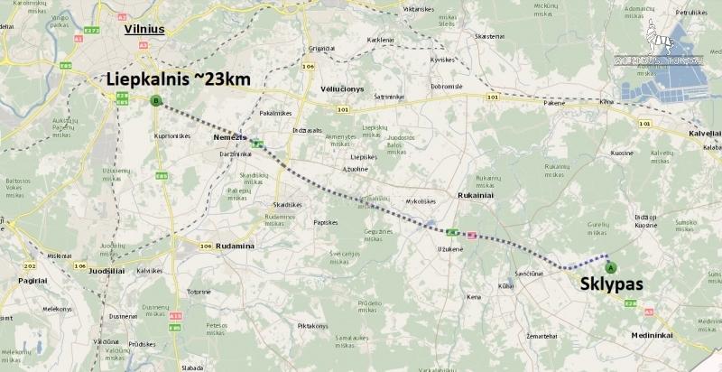 Vilniaus r. sav., Gudžių k., 845 a, 22 000 €