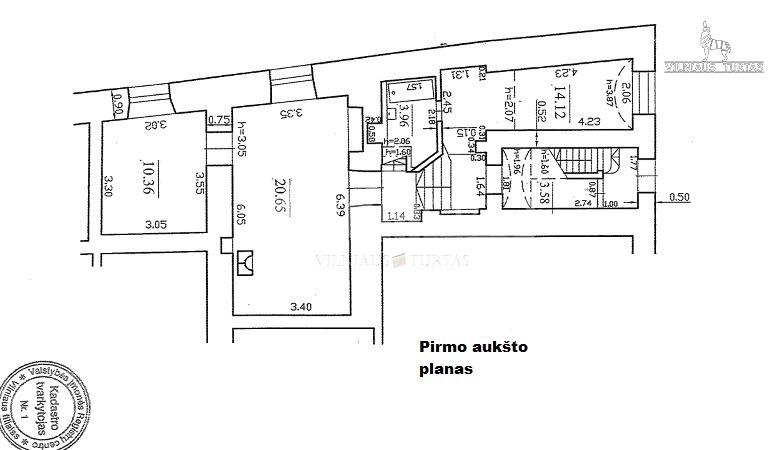 Vilniaus m. sav., Antakalnis, Antakalnio g., 60 m², 89 000 €
