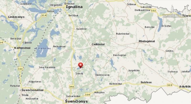 Švenčionių r. sav., Aučynų k., 64 a, 114 000 €