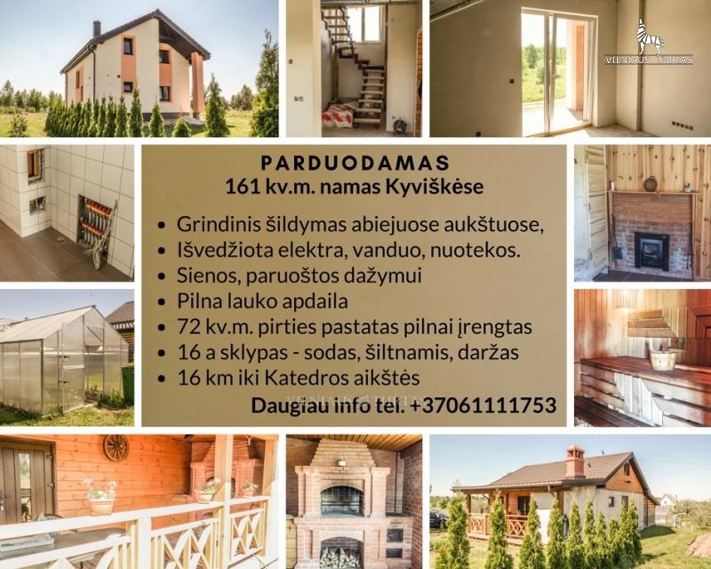 Parduodamas namas Dobromislės k. (Vilniaus r. sav.) skelbimo nuotrauka