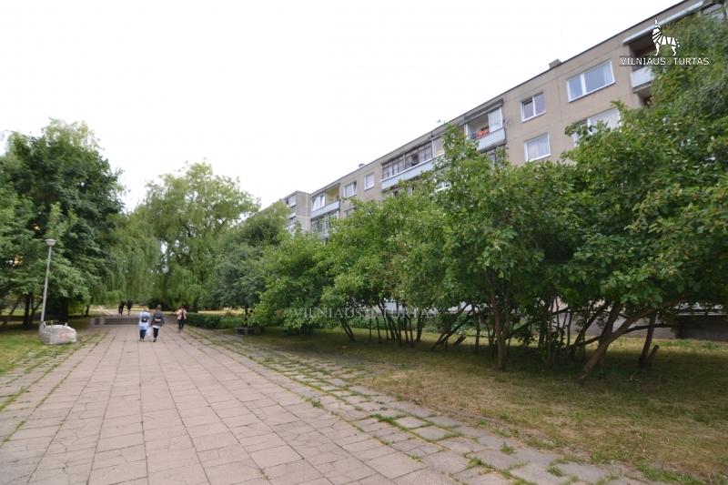 Vilniaus m. sav., Lazdynai, Erfurto g., 47 m², 52 000 €