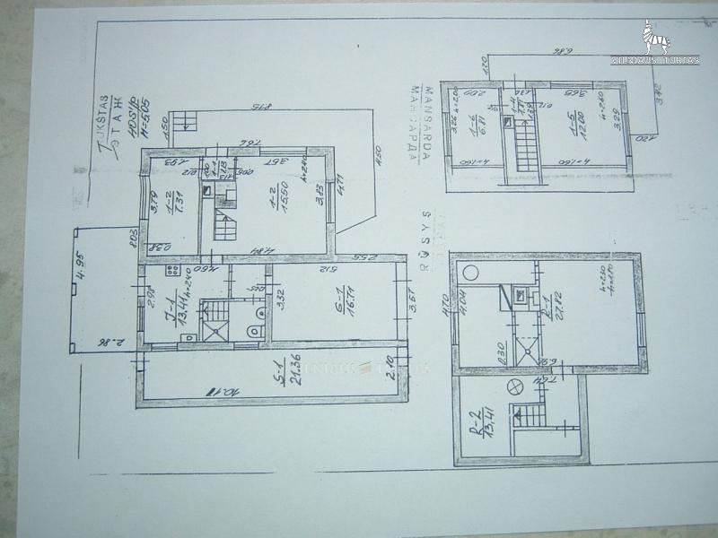 Vilniaus r. sav., Kreivėnų vs., 137 m², 6 a, 43 500 €