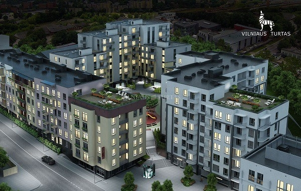 Vilniaus m. sav., Naujamiestis, 36 m², 115 000 €