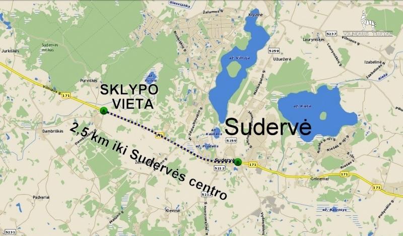 Parduodamas sklypas Purviškių k. (Vilniaus r. sav.) skelbimo nuotrauka