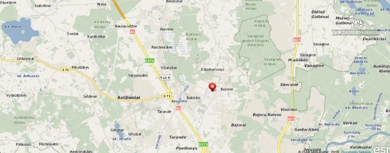 Vilniaus m. sav., Bajorai, 11 a, 47 800 €