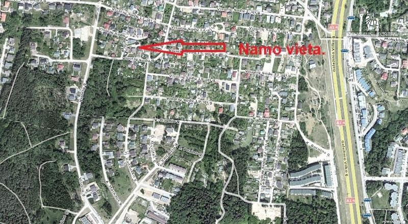 Vilniaus m. sav., Jeruzalė, Visorių Sodų g., 175 m², 6 a, 125 000 €