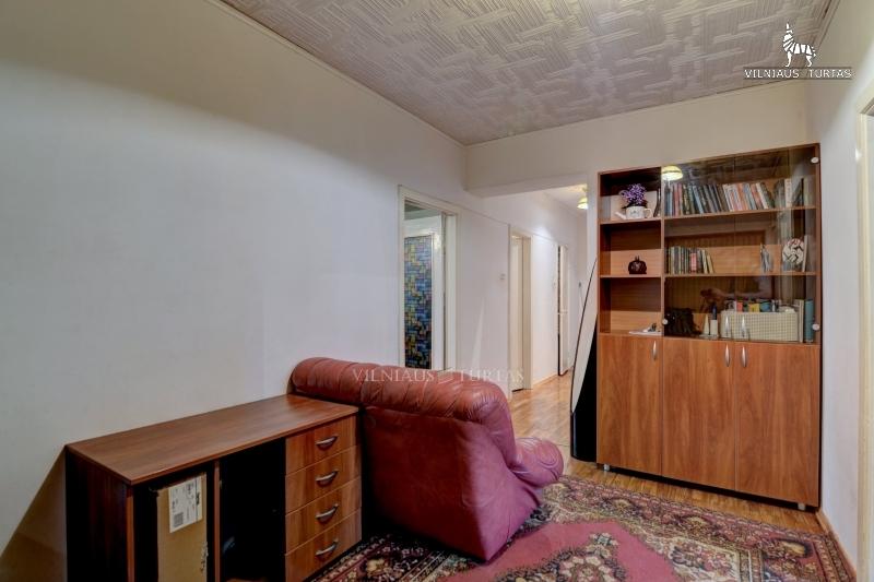 Vilniaus m. sav., Šnipiškės, Šeimyniškių g., 81 m², 124 500 €