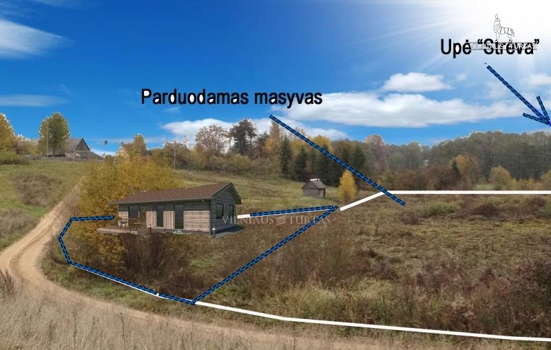 Elektrėnų sav., Semeliškių k., 50 m², 8 a, 59 000 €