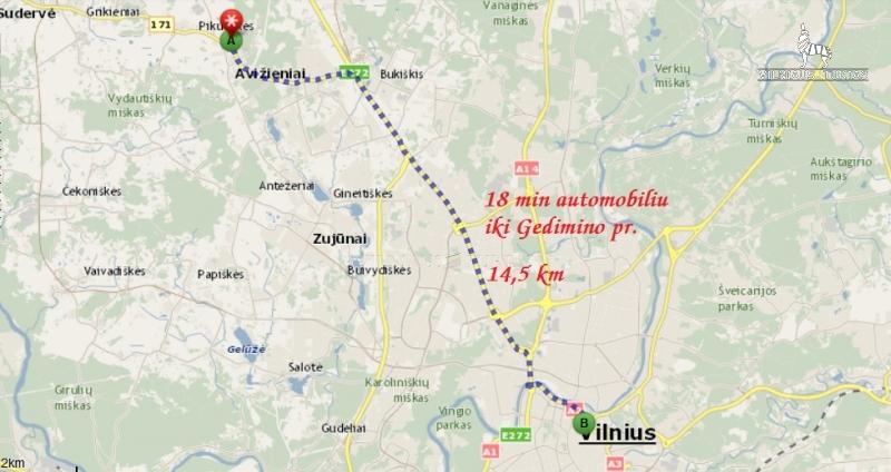 Vilniaus m. sav., Avižieniai, 14 a, 27 900 €