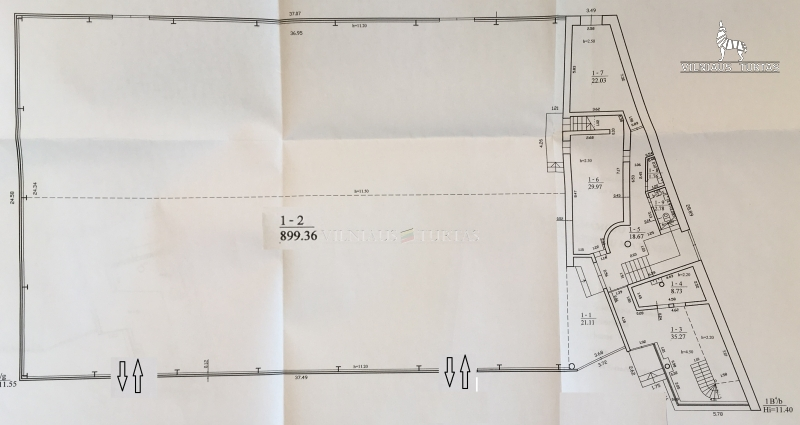 Vilniaus m. sav., Pašilaičiai, Ukmergės g., 1421 m², 22 a, 625 000 €